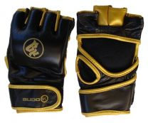 MMA Glove BK, black/gold