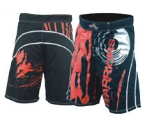 "MMA Shorts BK, ""Warrior"""